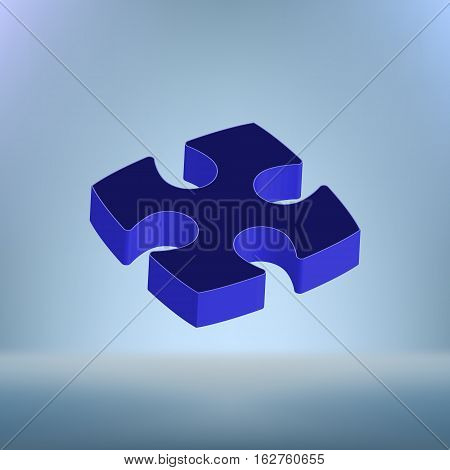Part Of 3 Dimension Puzzles Icon