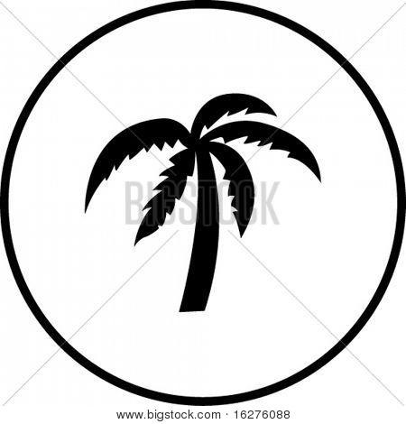 palm tree symbol