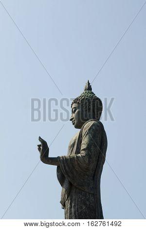 Buddha statue in Nakhon Pathom Province of Thailand