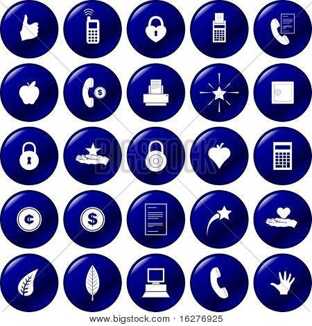 diverse button set 5