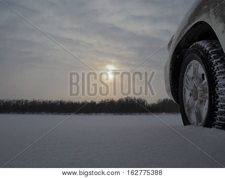 Offroad travelling during winter is tough but amazing