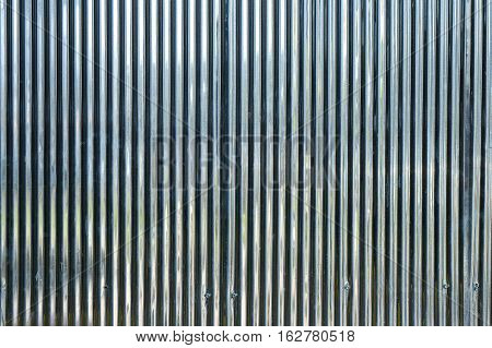 white zinc metal texture surface for background. Zinc wall texture look clean new area