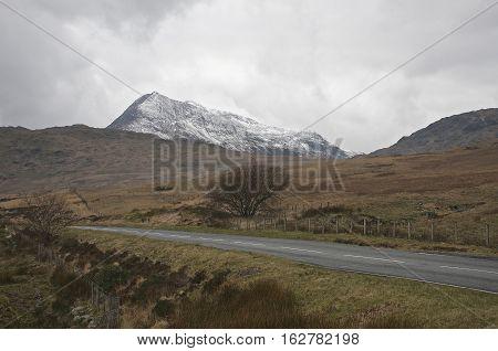 Road to Mount Snowdon, Snowdonia North Wales
