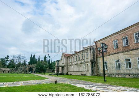 The Museum Was In Pitsunda, Abkhazia.