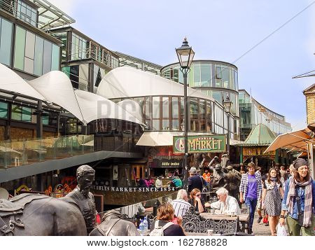 Stables Market. A Famous Alternative Culture Shops In Camden Town