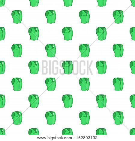 Men classic vest pattern. Cartoon illustration of men classic vest vector pattern for web