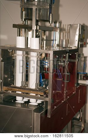 Factory Line for Yogurt Cup Filling and other dairy products