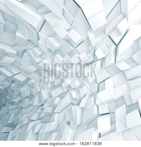 Abstract Fragments Pattern, 3D Render