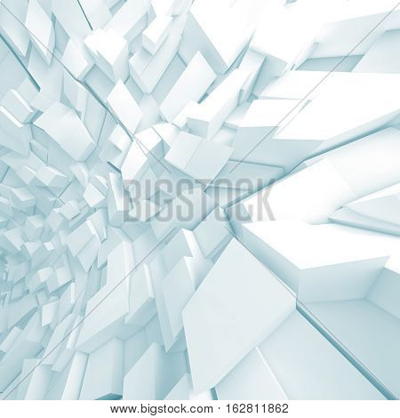 Abstract 3 D Digital Background