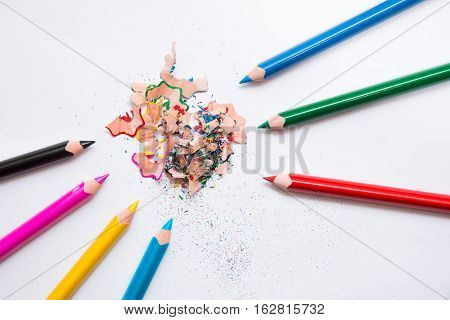 Crayons And Peelings