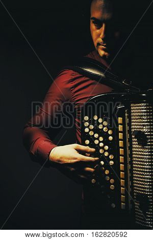 Chromatic Accordion Player