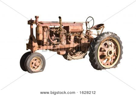 Retired Farm Tractor