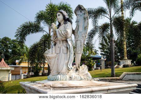 Gabriel archangel sculpture from Kerala in India