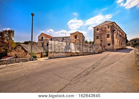 Skrip Village On Brac Island Street View