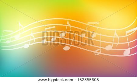 Vector Illustration of Music Background. Best for Backgrounds, Music, Design Element, Presentation, Modern, Backdrop, concept.
