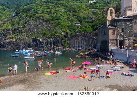 View Of Vernazza, Cinque Terre, Italy
