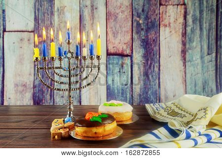 Image Of Jewish Holiday Hanukkah