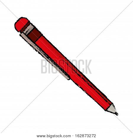 Isolated ballpoint pen vector illustration graphic design