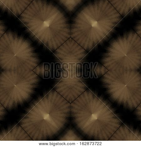 Dark symmetry brown and black texture image