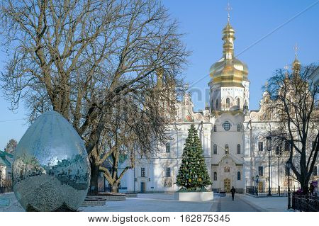 Cathedral of the Dormition during Christmas, Kiev Pechersk Lavra