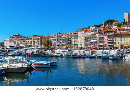 Harbor Of Cannes, French Riviera, France