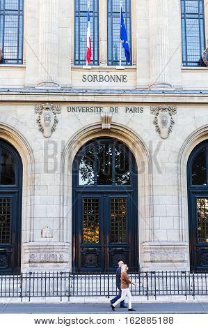 Sorbonne University In Paris, France