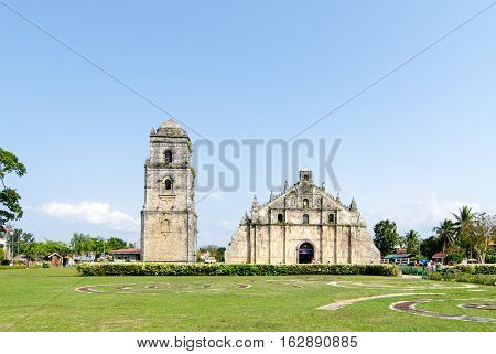 Church of San Agustin Paoay is part of the Unesco-listed Baroque churches of the Philippines