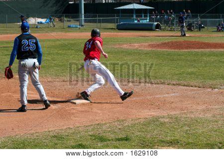 Rounding Third Base
