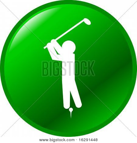 golf player button