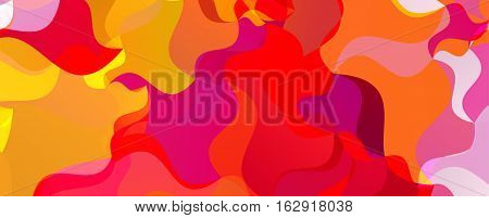 Colorful background. Polygonal colorful modern banner