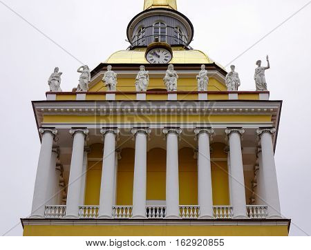 Admiralty Building In St. Petersburg, Russia