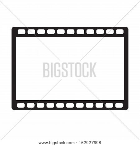 movie icon on white background. movie icon sign.