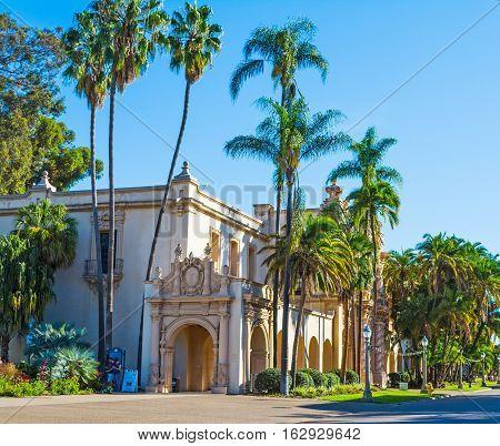 Casa del Prado in Balboa park San Diego