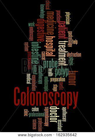 Colonoscopy, Word Cloud Concept 6