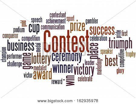 Contest, Word Cloud Concept 2