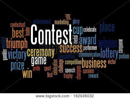 Contest, Word Cloud Concept 3