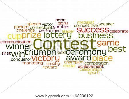 Contest, Word Cloud Concept 5