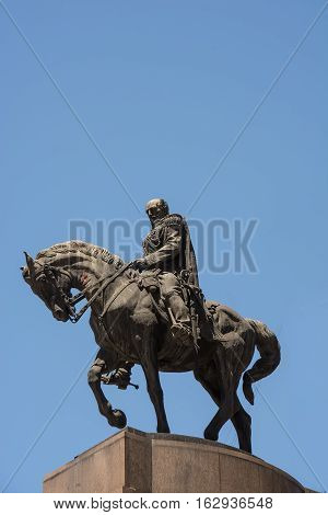 The Monument General Roca in Buenos Aires