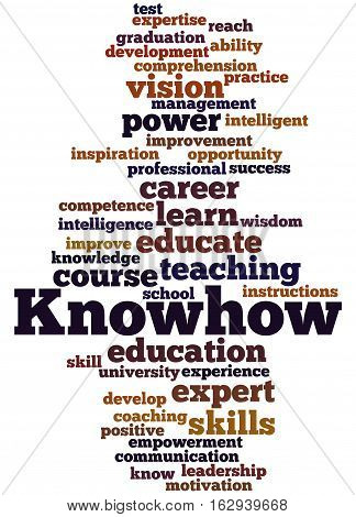 Knowhow, Word Cloud Concept 9