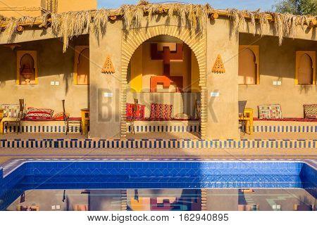 Berber Symbol For Freedom, Morocco