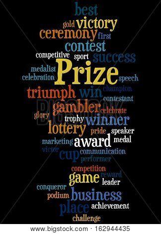 Prize, Word Cloud Concept 4