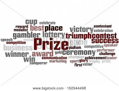 Prize, Word Cloud Concept 6