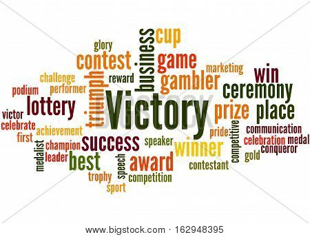 Victory, Word Cloud Concept 6