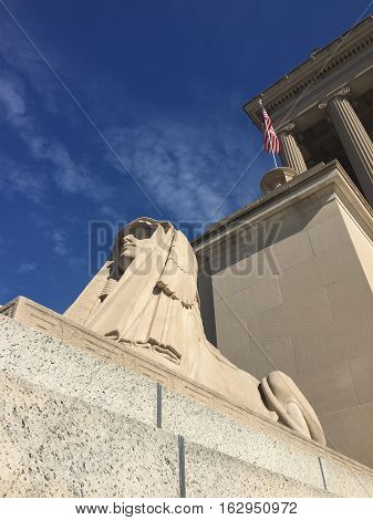 Scottish Rite Masonic Temple Sphinx, Washington, DC