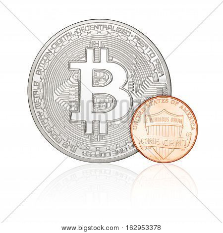 One Cent And Bitcoin