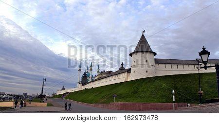 South-west Tower of Kazan Kremlin. Kazan Republic of Tatarstan Russia.