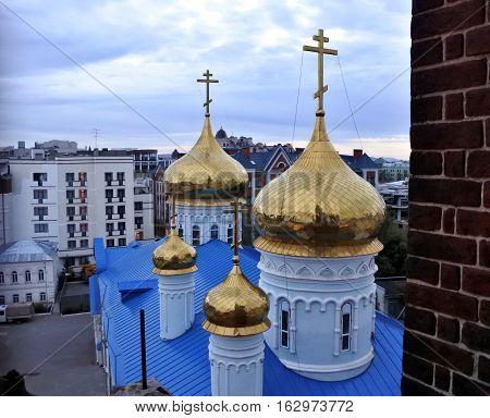 One of the churches in Kazan. Kazan Russia.