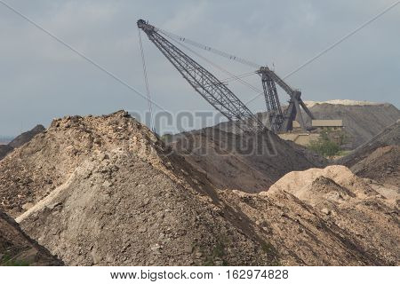 Coal mine used for fuel for the San Miguel power plant.