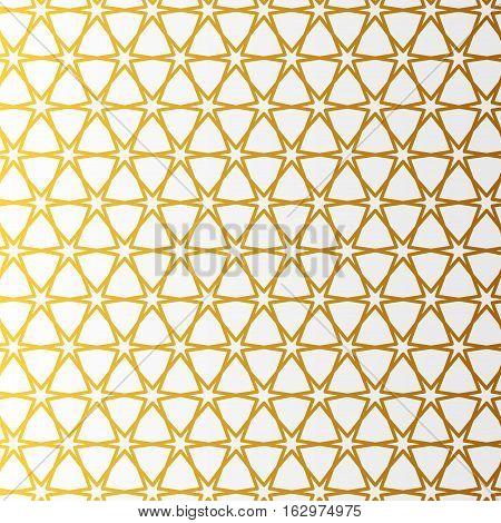 Arabic pattern gold style. Traditional arab east geometric decorative background