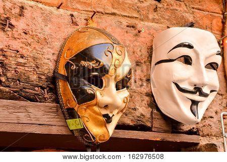 Traditional Carnival Venice Mask
